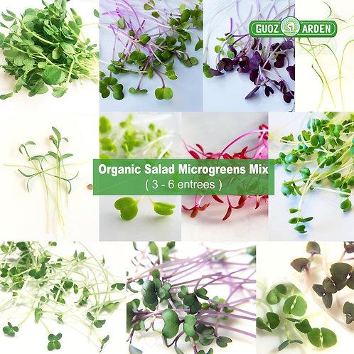 Salad Microgreens Mix(3-6 entrees)