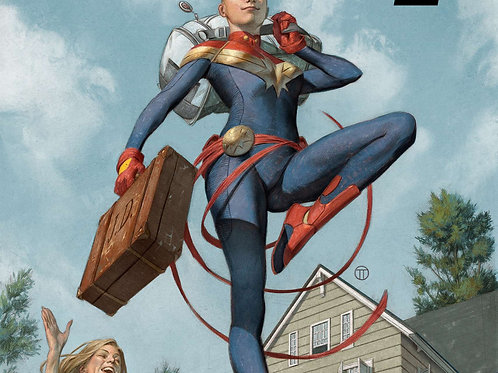 Captain Marvel 12 Issue Subscription
