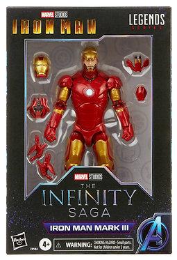 "Marvel Legends: Iron Man Mark III (Infinity Saga) 6"" Action Figure"