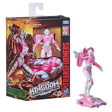 Transformers WFC Kingdom: Arcee (Deluxe Class)