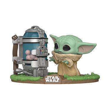 Star Wars The Mandalorian: The Child (Grogu) & Egg Canister Pop! Figure