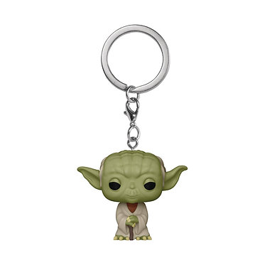 Star Wars: Yoda Pocket Pop! Keychain