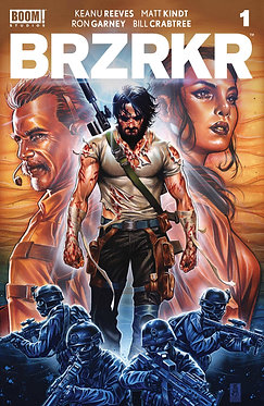 BRZRKR #1 Mark Brooks Cover