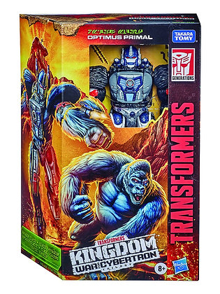 Transformers WFC Kingdom: Optimus Primal (Voyager Class)