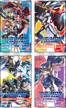 Digimon Card Game Release Special Booster Ver. 1.5 Pack