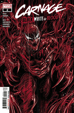 Carnage: Black, White and Blood #2
