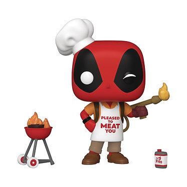 Marvel Deadpool 30th: Backyard Griller Deadpool Pop! Figure