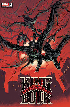 King in Black #1 Stegman Darkness Reigns Variant