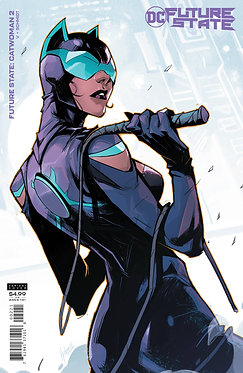 Future State: Catwoman #2 Cardstock Variant