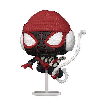Marvel's Spider-Man: Miles Morales (Winter Suit) Pop! Figure