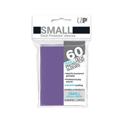 Purple Small Deck Protector Sleeves 60-Pack (Ultra Pro)