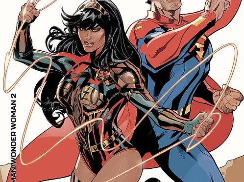 Future State: Superman/Wonder Woman #2 Cardstock Variant