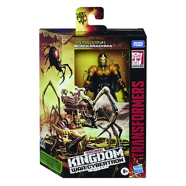 Transformers WFC Kingdom: Blackarachnia (Deluxe Class)