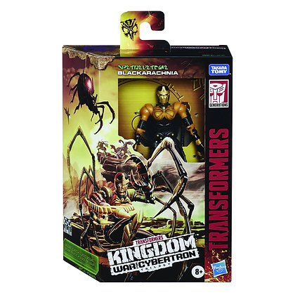 Transformers WFC Kingdom: Blackarachnia (Deluxe Class)