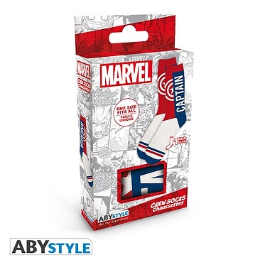 Marvel: Captain America Crew Socks