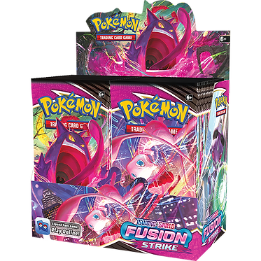 Pokémon Sword & Shield: Fusion Strike Booster Box