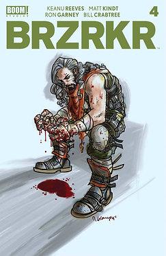 BRZRKR #4 Grampa Cover