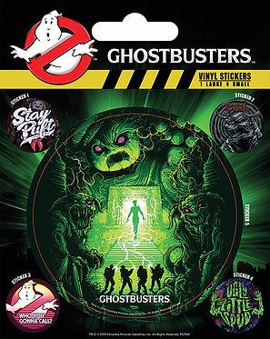 Ghostbusters Vinyl Stickers