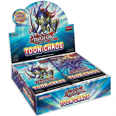 Yu-Gi-Oh!: Toon Chaos Booster Box (Unlimited Reprint)