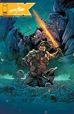 Skybound X #2 Bressnan Cover