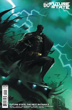 Future State: The Next Batman #2 Mattina Variant