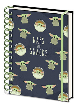 Star Wars: The Child Naps & Snacks A5 Notebook