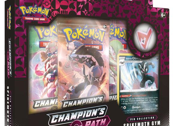 Pokémon Champion's Path Pin Collection: Spikemuth