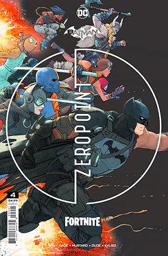 Batman/Fortnite: Zero Point #4 2nd Print