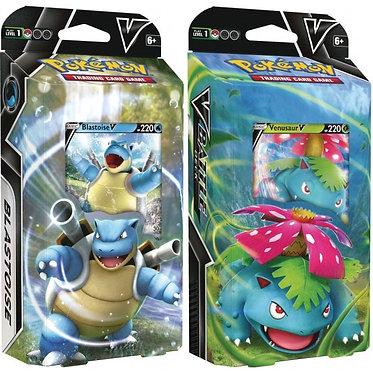 Pokémon: V Battle Deck (Blastoise, Venusaur)