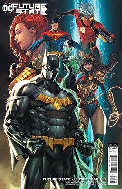 Future State: Justice League #1 Ngu Cardstock Variant