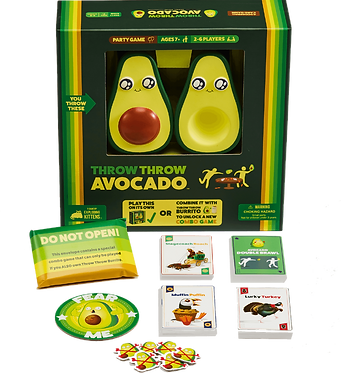 Throw Throw Avocado: A Dodgeball Card Game