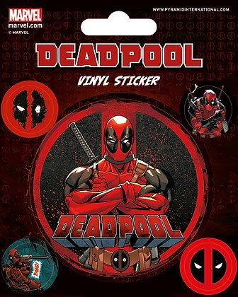 Marvel: Deadpool Vinyl Stickers