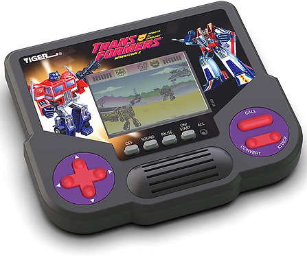 Tiger Electronics Transformers Game