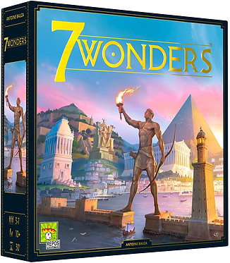 7 Wonders: Second Edition Card Game