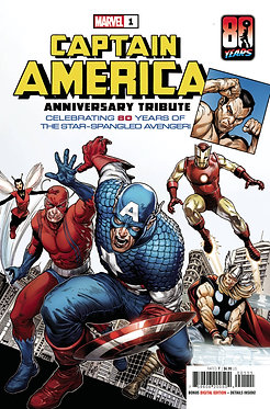 Captain America Anniversary Tribute One-Shot