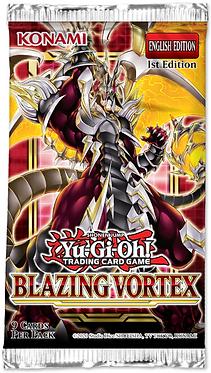 Yu-Gi-Oh!: Blazing Vortex Booster Pack (1st Edition)