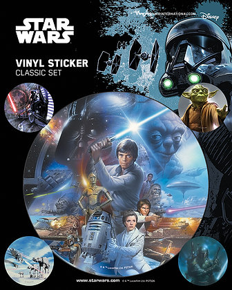 Star Wars: Classic Vinyl Stickers