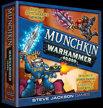 Munchkin: Warhammer 40,000 Card Game