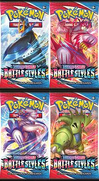 Pokémon Sword & Shield: Battle Styles Booster Pack