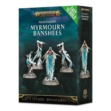 Warhammer Age of Sigmar: Nighthaunt Myrmourn Banshees (71-11) (Easy To Build)