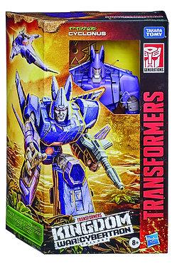 Transformers WFC Kingdom: Cyclonus (Voyager Class)