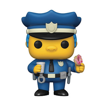 The Simpsons: Chief Wiggum Pop! Figure