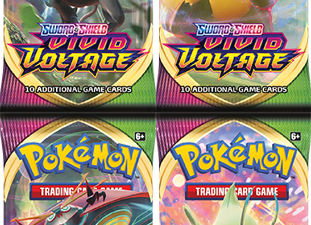 Pokémon Sword & Shield: Vivid Voltage Booster Pack