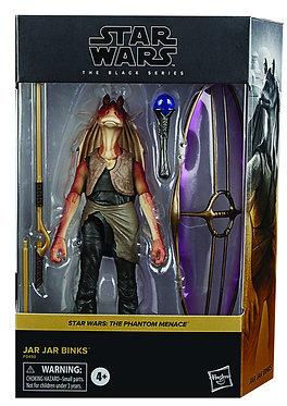"""Star Wars Black Series: Jar Jar Binks (Phantom Menace) Deluxe 6"""" Figure"""