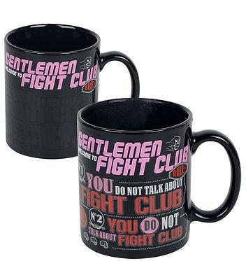 Fight Club (Rules) Heat Change Mug