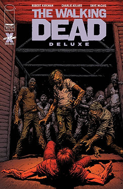 Walking Dead Deluxe #11 Cover A - Finch