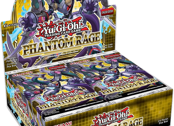 Yu-Gi-Oh!: Phantom Rage Booster Box (1st Edition)