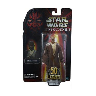 "Star Wars Black Series: Mace Windu (Episode I Lucasfilm 50th) 6"" Figure"