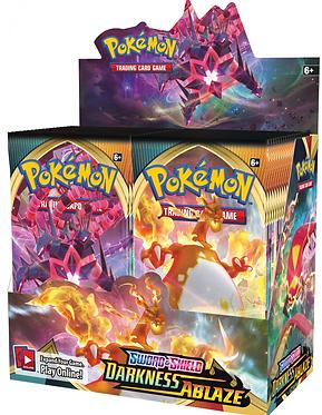 Pokémon Sword & Shield: Darkness Ablaze Booster Box
