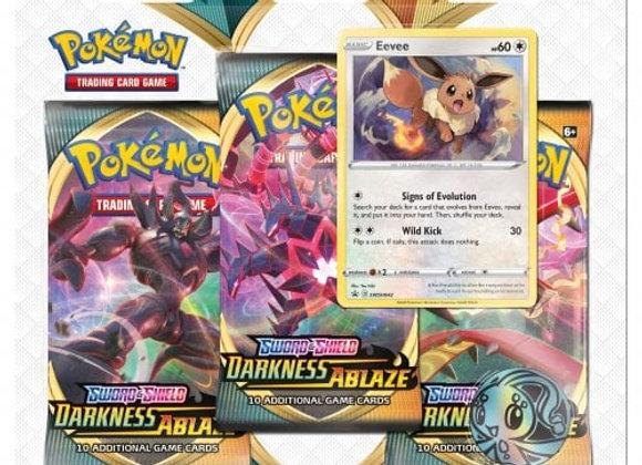 Pokémon Sword & Shield: Darkness Ablaze 3-Pack